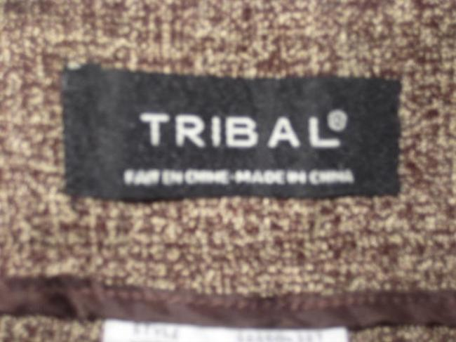 Tribal Trouser Pants Brown