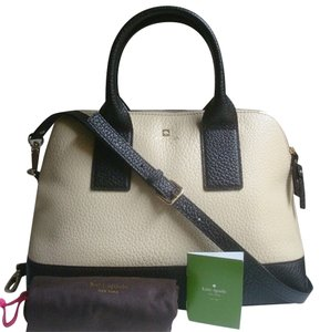 Kate Spade Leather White Brand New With Cross Body Bag
