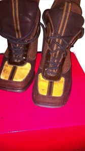 Alec Chocolate & Carmel Boots