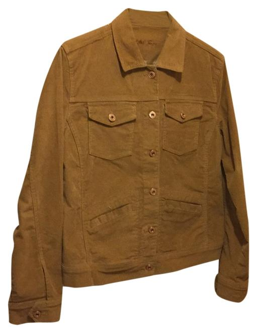 Preload https://img-static.tradesy.com/item/5113546/kikit-brown-and-beigh-and-tan-jacket-size-8-m-0-0-650-650.jpg