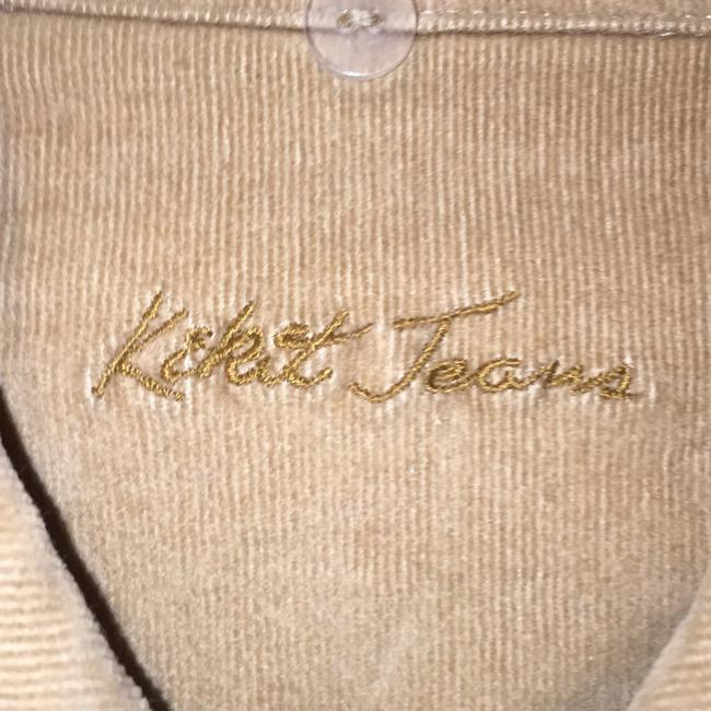 Kikit Brown and Beigh and tan Jacket