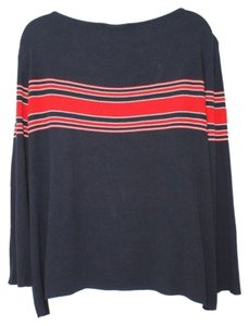 St. John Sport Navy Blue Knit Sweater