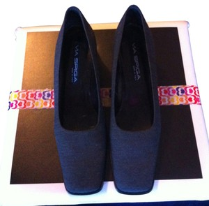 Via Spiga Dark Gray Platforms