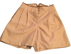 Mango Bermuda Shorts Beige, brown