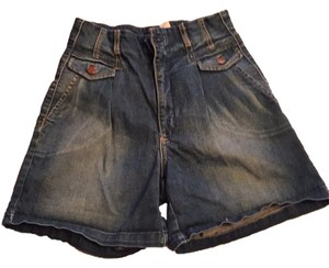 Mango Mini/Short Shorts Blue, jeans