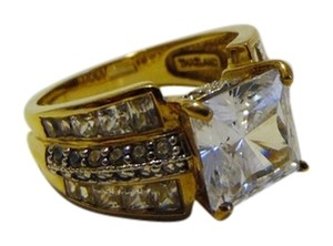 Other Victoria Wieck of Beverly Hills .925 Sterling Silver Square Design Absolute Ring Size 8