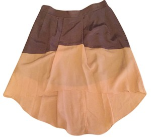 BCBGeneration Skirt Beige, gray