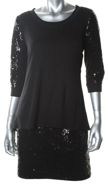 Preload https://item2.tradesy.com/images/laundry-by-shelli-segal-black-short-cocktail-dress-size-2-xs-5114281-0-0.jpg?width=400&height=650