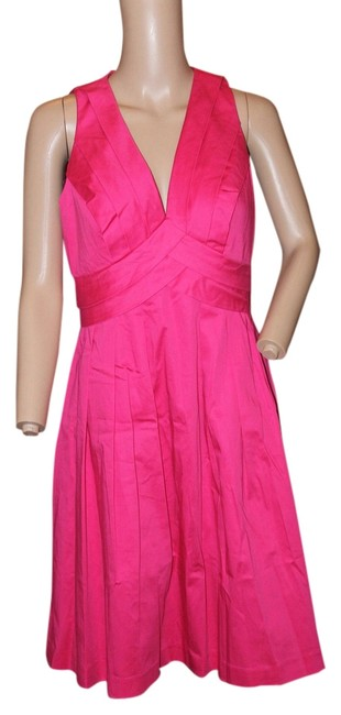 Preload https://item2.tradesy.com/images/calvin-klein-bright-pink-short-workoffice-dress-size-4-s-5114761-0-0.jpg?width=400&height=650