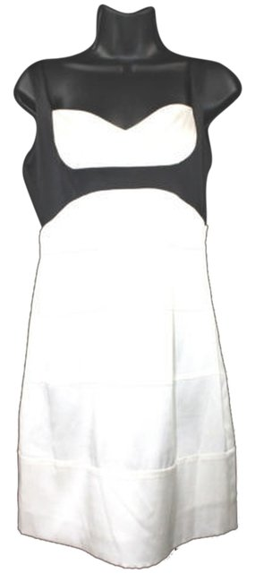 Preload https://img-static.tradesy.com/item/5114944/bcbgmaxazria-stretch-black-trim-sleeveless-silk-260-knee-length-night-out-dress-size-8-m-0-0-650-650.jpg