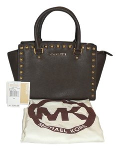 Michael Kors Satchel in Brown ( Coffee )