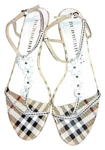 Burberry Slingbacks Tan Sandals