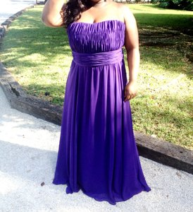 Mori Lee PURPLE Mori Lee Purple Bridesmaid Dress Dress