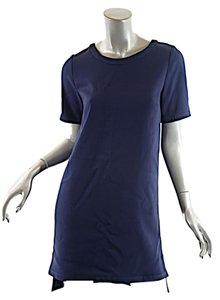 Stella McCartney short dress Navy T-shirt Stretch on Tradesy
