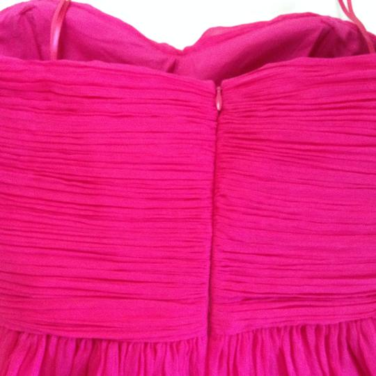 J.Crew Pink Silk Chiffon Arabelle New Feminine Bridesmaid/Mob Dress Size 6 (S)