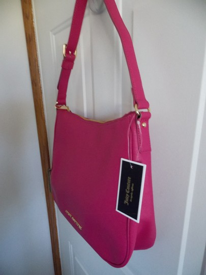 Juicy Couture Pet And Smoke Free Leather Hobo Bag