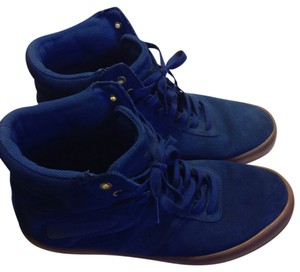 Creative Creation Suede Upper Leather Men Blue Athletic