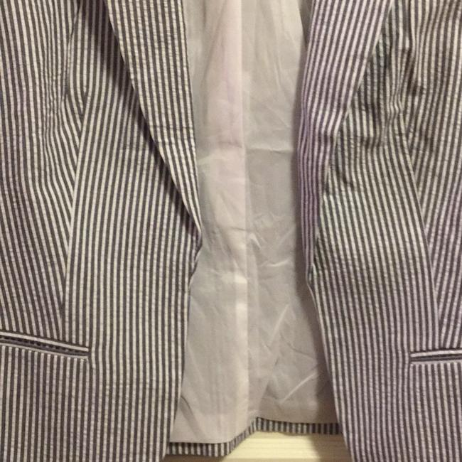 Banana Republic Blue/white Blazer