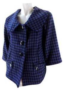 Mac & Jac Lined Cropped 3/4 Sleeve Pea Coat