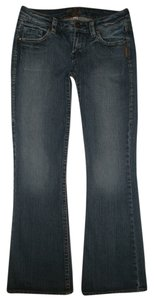 Silver Jeans Co. Excellent Condition Boot Cut Jeans-Dark Rinse