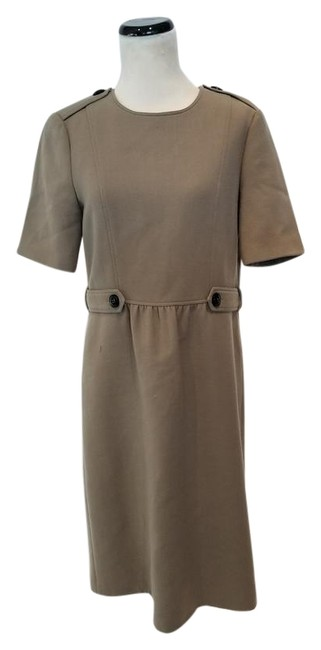 Preload https://item5.tradesy.com/images/burberry-taupe-button-a-line-long-workoffice-dress-size-8-m-511684-0-2.jpg?width=400&height=650
