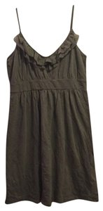 Banana Republic short dress Olive green on Tradesy