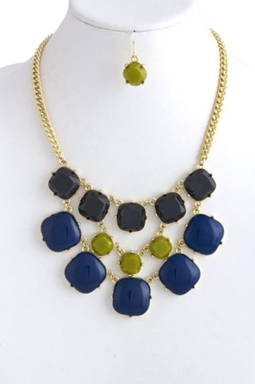 Preload https://item5.tradesy.com/images/blue-gold-green-multi-color-faceted-and-cabochon-acrylic-bib-necklace-5117089-0-0.jpg?width=440&height=440