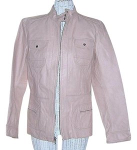 Other Prague Mod Prague Prague Retro Look Mod Blush Pink Leather Jacket