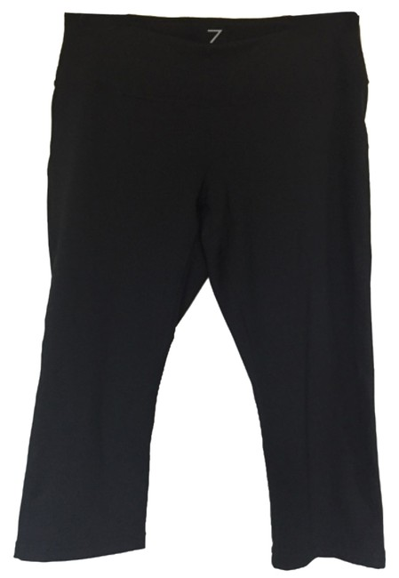 Item - Black Cropped Tights Activewear Bottoms Size 8 (M, 29, 30)