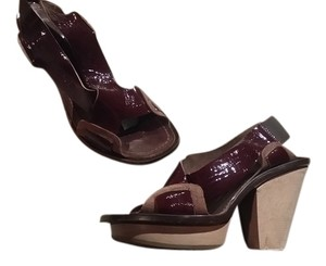 Marni Brown Platforms