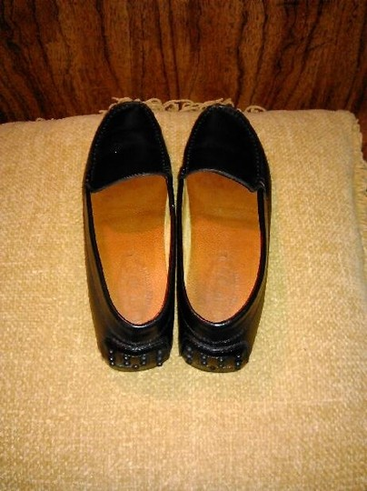 Tod's Leather Loafers Black Flats Image 5