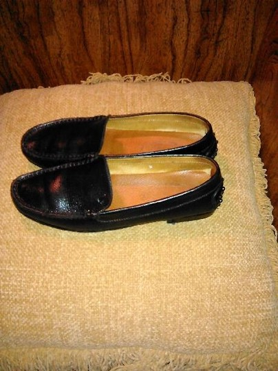 Tod's Leather Loafers Black Flats Image 6