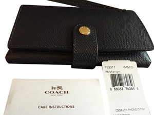 Coach Midnight blue Clutch
