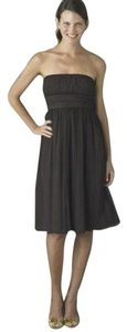 J.Crew Lbd Silk Chiffon Strapless Bridesmaid Special Occasion Ann Taylor Dress