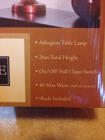 Style Craft Arlington Table Lamp