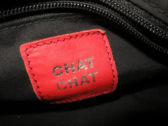 Chat Chat Satchel in Blue