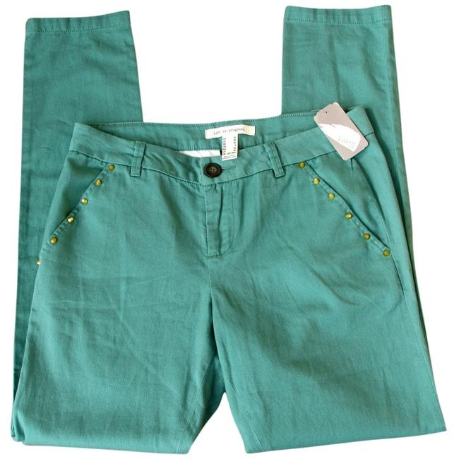 Love Coulture Stud Gold New Skinny Pants green Image 0