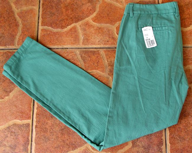 Love Coulture Stud Gold New Skinny Pants green Image 2