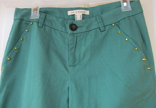 Love Coulture Stud Gold New Skinny Pants green Image 3