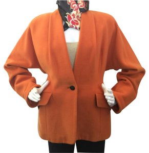 Max Mara Orange Blazer