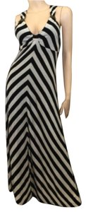 Stripe Maxi Dress by Miss Sixty