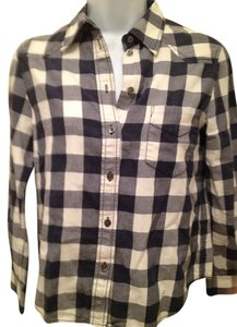 3.1 Phillip Lim Button Down Shirt blue and white