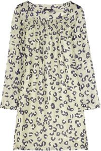 A.P.C. Silk Apc Leopard Print Dress