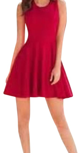 Preload https://img-static.tradesy.com/item/5120095/boston-proper-red-fit-and-flare-ponte-above-knee-cocktail-dress-size-18-xl-plus-0x-0-2-650-650.jpg