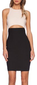 Elizabeth and James Sheath Racer-back Bodycon Dress