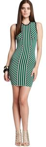 Torn by Ronny Kobo short dress Striped Sheath Knit Bodycon on Tradesy