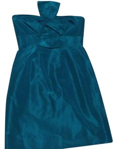 J.Crew Teal Fancy Dress