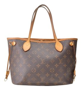 Louis Vuitton Auntic Tote in Browns