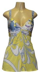 Elie Tahari Top multi yellow