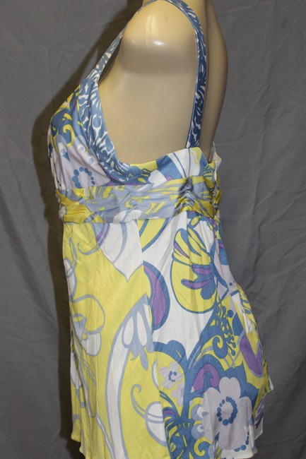 Elie Tahari Top multi yellow Image 2